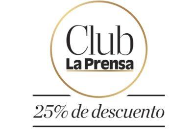 Logo 25% De Descuento La PRENSA